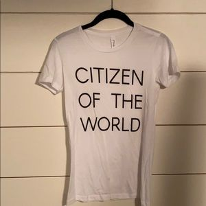 """Citizen of the World"" 🌎 Graphic Tee"